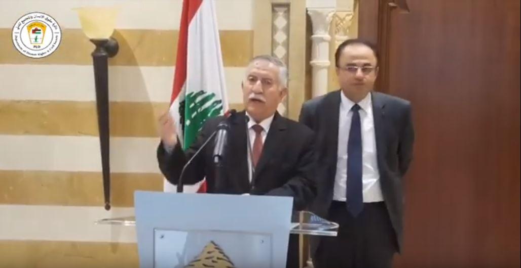 كانون اول 2018 كلمة السيد احمد التميمي بعد لقائه السيد سعد الحريري